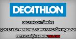 Decathlon personel alımı
