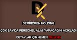 Demirören Holding personel alımı