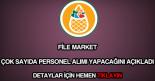 File Market personel alımı