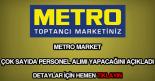 Metro Market personel alımı