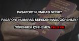 Pasaport numarası nereden nasıl öğrenilir?