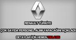 Renault personel alımı