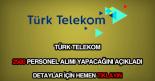 Türk Telekom 2500 personel alımı