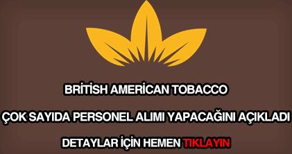 British Tobacco personel alımı