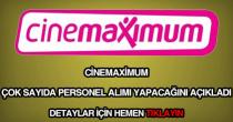 Cinemaximum personel alımı
