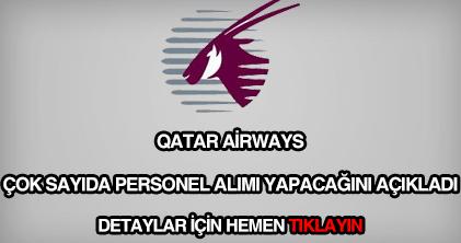 Katar Havayolları personel alımı