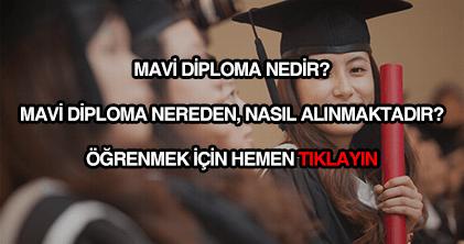 Mavi diploma nedir?