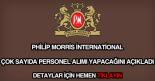 Philip Morris personel alımı