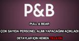 Pull and Bear personel alımı