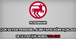 Rossmann personel alımı