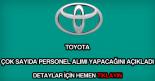 Toyota personel alımı