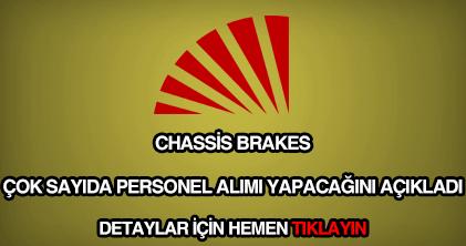 Chassis Brakes personel alımı