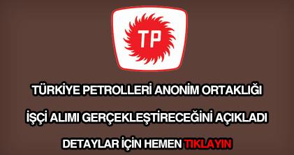 TPAO işçi alımı