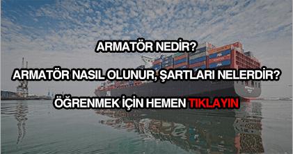 Armatör nedir?