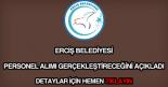 Erciş Belediyesi personel alımı