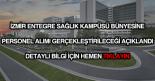 İzmir şehir hastanesi personel alımı