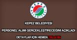 Kepez Belediyesi personel alımı