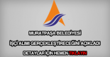 Muratpaşa Belediyesi işçi alımı