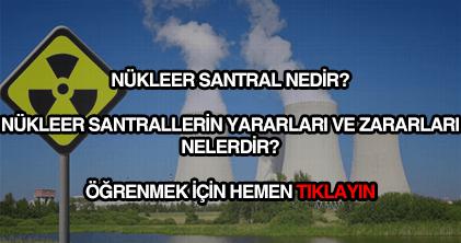 Nükleer santral nedir?