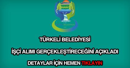 Türkeli Belediyesi işçi alımı
