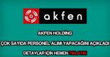 Akfen Holding personel alımı