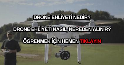Drone ehliyeti nasıl nereden alınır?
