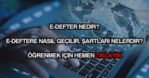 E-defter nedir?