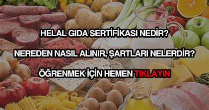 Helal gıda sertifikası nereden nasıl alınır?