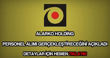 Alarko Holding personel alımı