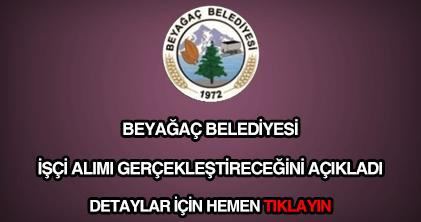 Beyağaç Belediyesi işçi alımı