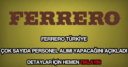 Ferrero personel alımı