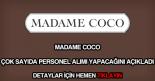 Madame Coco personel alımı