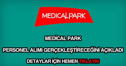 Medical Park personel alımı