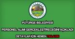 Pütürge Belediyesi personel alımı