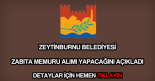 Zeytinburnu Belediyesi personel alımı