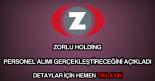 Zorlu Holding personel alımı