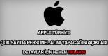 Apple Türkiye personel alımı