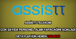 Assistt Telekom personel alımı