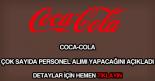 Coca Cola personel alımı
