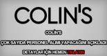 Colin's personel alımı