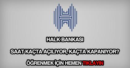 Halk Bank çalışma saatleri