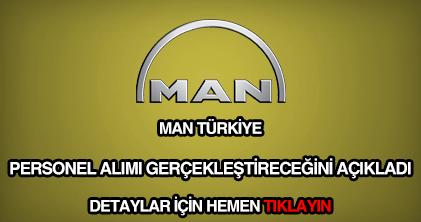 Man Türkiye personel alımı