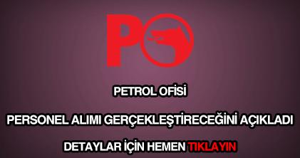 Petrol Ofisi personel alımı