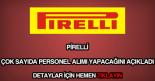 Pirelli personel alımı