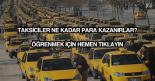 Taksici maaşları