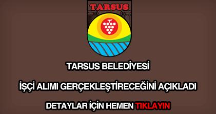 Tarsus Belediyesi işçi alımı