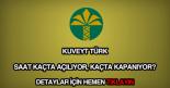 Kuveyt Türk çalışma saatleri