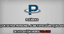 Polimeks personel alımı