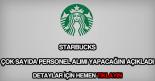 Starbucks personel alımı