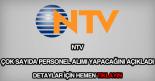 NTV personel alımı